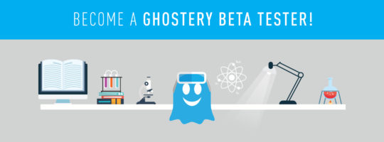 Become a Ghostery Beta Tester!