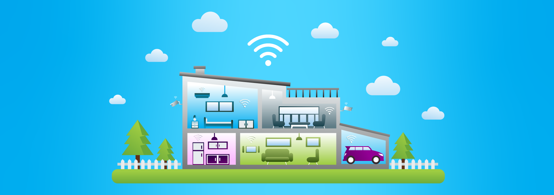 Protecting Your House with IoT Devices
